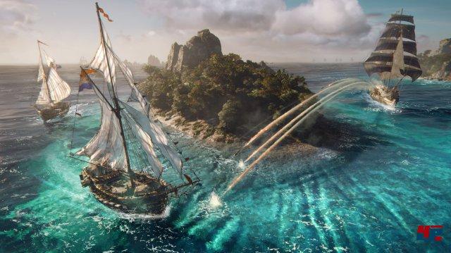 Wie die Kampagne aussieht und ob man sie auch offline erleben kann, behält Ubisoft noch für sich. Die PvP-Gefechte machten auf der E3 aber schon Lust auf die Seeschlachten!