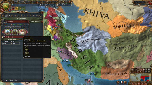 Screenshot - Europa Universalis 4: Cradle of Civilization (PC)