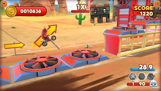 Screenshot - Joe Danger Touch (iPhone) 92439362