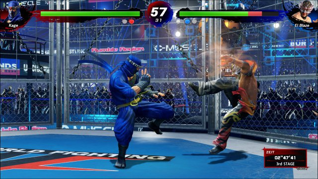Je nach Stage und Kämpfer sieht Ultimate Showdown mitunter so gut aus wie ein richtig neues 3D-Beat