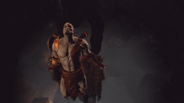 God of War III <br><br>  Doch auch der Spartaner drückt manchmal auf die Tube – vor allem in den Flugsequenzen mit Ikarus-Flügeln geht die Post ab.  2090213