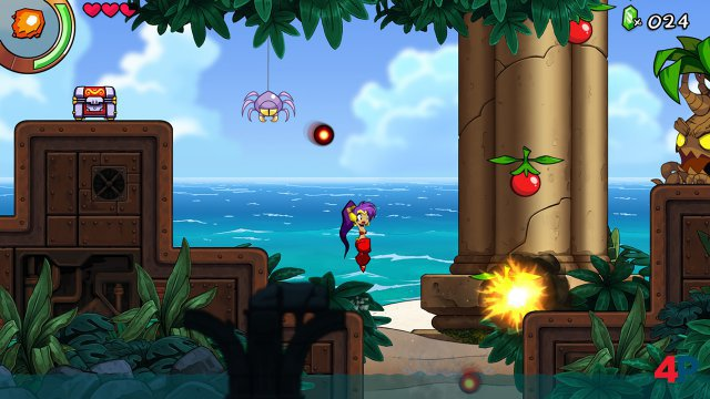 Screenshot - Shantae and the Seven Sirens (Switch)