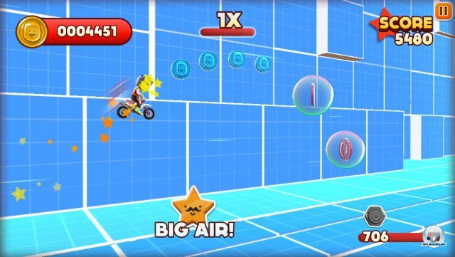 Screenshot - Joe Danger Touch (iPhone) 92439442