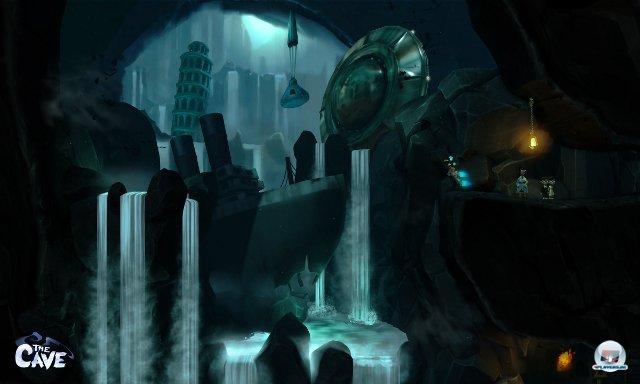 <b>The Cave (Multi)</b><br><br> Lucas Arts-Veteran Ron Gilbert will Adventure-Freunde verzaubern. Nicht mit Point&Click, sondern mit cleveren Plattform-Rätseln in leuchtendem Design, welche an Trine oder The Lost Vikings erinnern. An Orten wie einem unterirdischen Freizeitpark und einer mittelalterlichen Burg experimentiert man mit speziellen Persönlichkeiten und ihren Fähigkeiten herum - Maniac Mansion lässt grüßen. Der Startschuss soll schon zu Beginn des Jahres fallen. 92434242