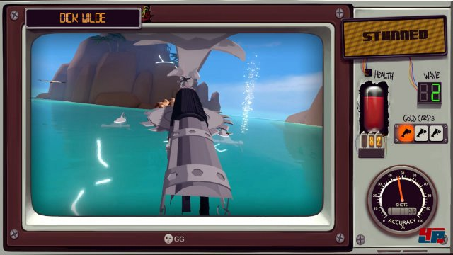 Das Abschießen der Tiere ist in der virtuellen Realität besonders spaßig.