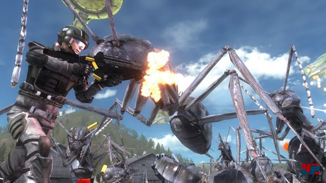 Screenshot - Earth Defense Force 5 (PS4) 92573048