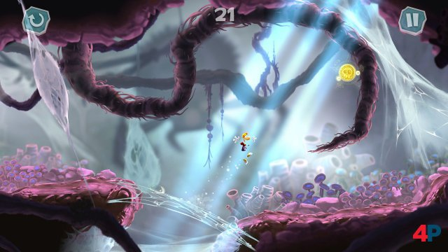 Screenshot - Rayman Mini (iPad)