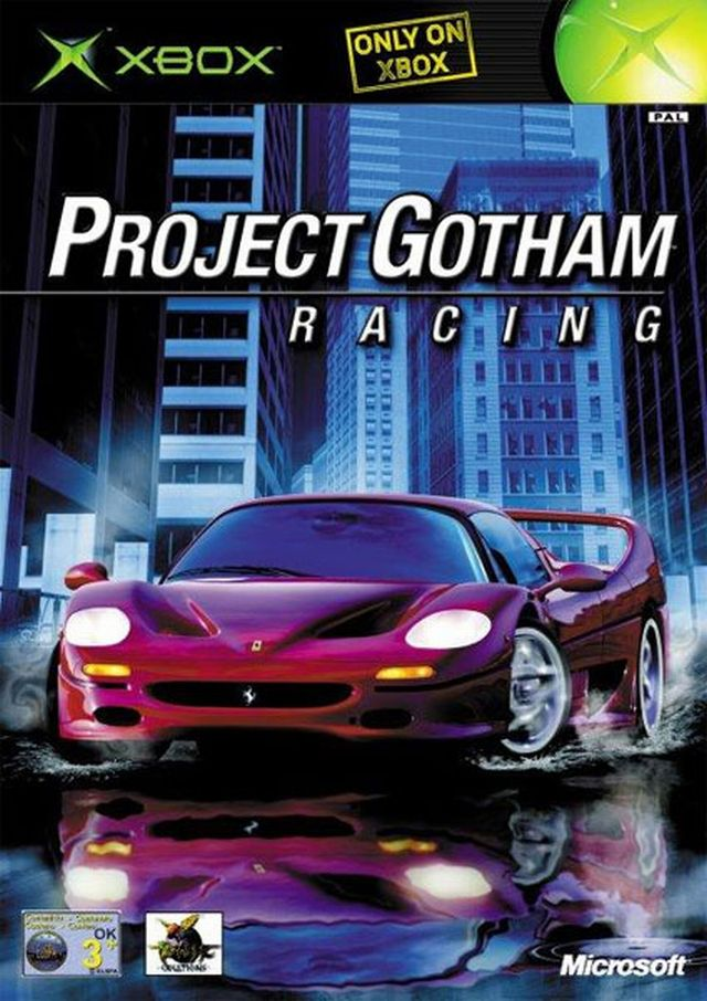 Project Gotham Racing (2001) <br><br> Project Gotham Racing ist der geistige Nachfolger von MSR. Da der Titel exklusiv und als Starttitel für die neue Xbox-Konsole von Microsoft entwickelt wurde, Sega aber die Rechte an MSR besaß, musste ein neuer Name gefunden werden. Am Konzept wurde allerdings nichts geändert und so wurden weiter fleißig Kudos für den Fortschritt gesammelt, während New York als neue Metropole die bereits aus MSR bekannten Städte ergänzte. Hinter dem Bungie-Hit Halo war Project Gotham Racing das Spiel, das sich am besten auf der Xbox verkauft hat. 2199377