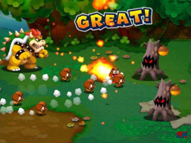 Screenshot - Mario & Luigi: Abenteuer Bowser   Bowser Jr.s Reise (3DS)