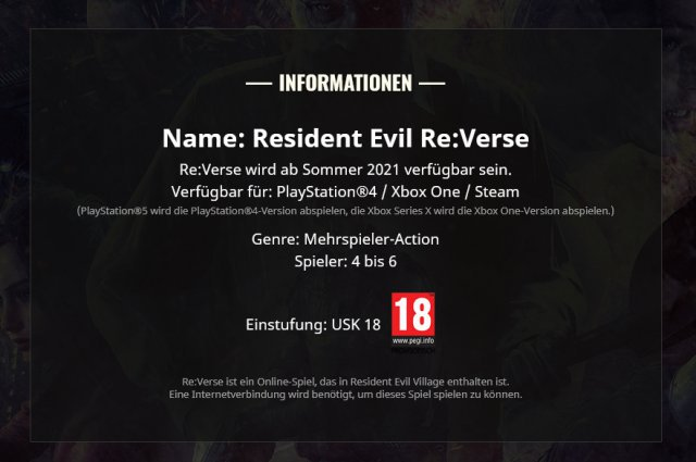 Screenshot - Resident Evil Re:Verse (PC, PS4, One)