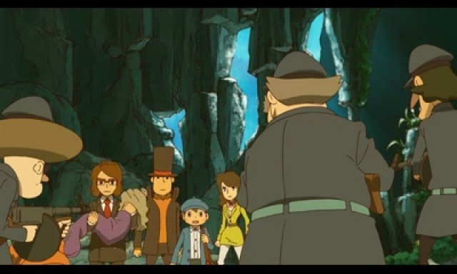 Screenshot - Professor Layton and the Azran Legacy (3DS) 92466003