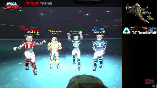 Zeit für ein Tänzchen: Die Krieger-Klassen unterscheiden sich nur durch etwas mehr Gesundheit, Geschwindigkeit oder Ausdauer. Ein Alien ist auch dabei.