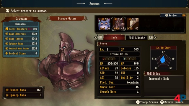 Screenshot - Brigandine: The Legend of Runersia (Switch) 92617349