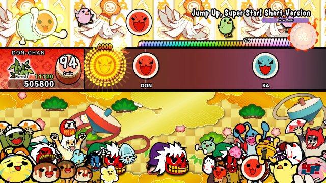 Screenshot - Taiko no Tatsujin: Drum 'n' Fun! (Switch) 92570317