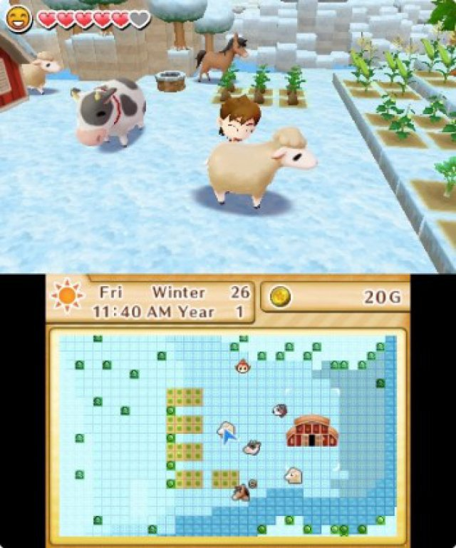 Screenshot - Harvest Moon: Das verlorene Tal (3DS) 92504996