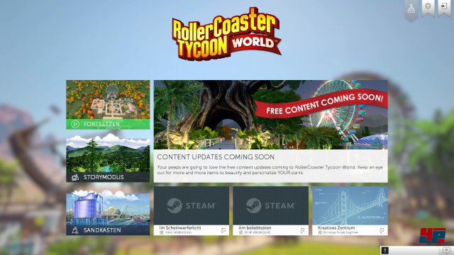 Screenshot - RollerCoaster Tycoon World (PC) 92537627