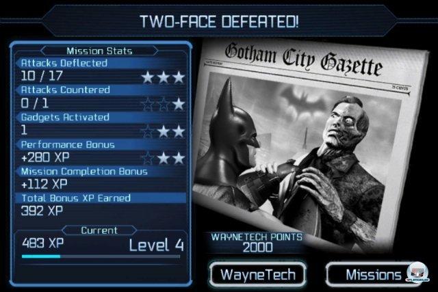 Screenshot - Batman: Arkham City Lockdown (iPhone) 2298337