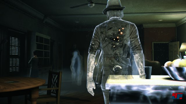 Durch viele Objekte und Wände marschiert der Protagonist einfach hindurch.