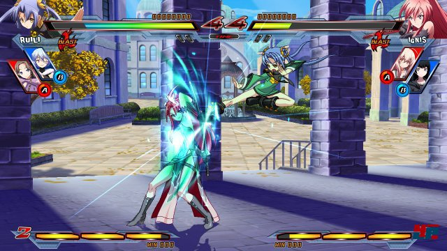 Screenshot - Nitroplus Blasterz: Heroines Infinite Duel  (PlayStation3) 92506826