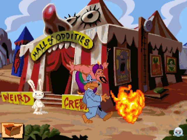 Screenshot - Sam & Max Hit the Road (PC) 92431602