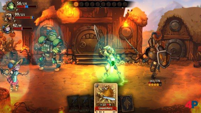 Screenshot - SteamWorld Quest: Hand of Gilgamech (PC) 92590774