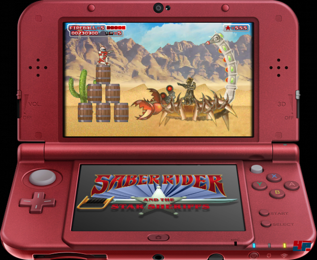 Screenshot - Saber Rider and the Star Sheriffs: The Video Game (N3DS) 92512894