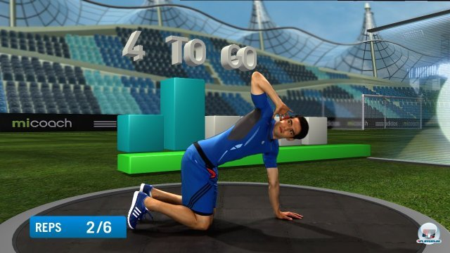 Screenshot - miCoach (PlayStation3)