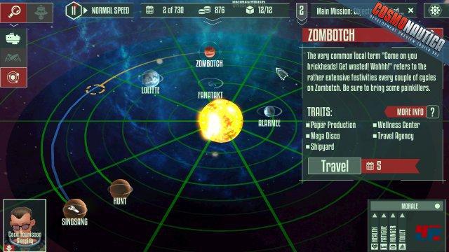 Das Universum wird vom Zufall erstellt und besteht aus vielen solcher Sonnensysteme.