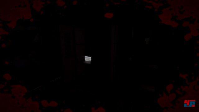 Wichtige Objekte werden in der Dunkelheit künstlich hervorgehoben, damit man sie nicht übersieht.