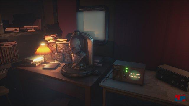 Nicht nur Syberia 3 hat obskure Automaten zu bieten.