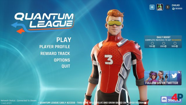 Screenshot - Quantum League (PC) 92614083