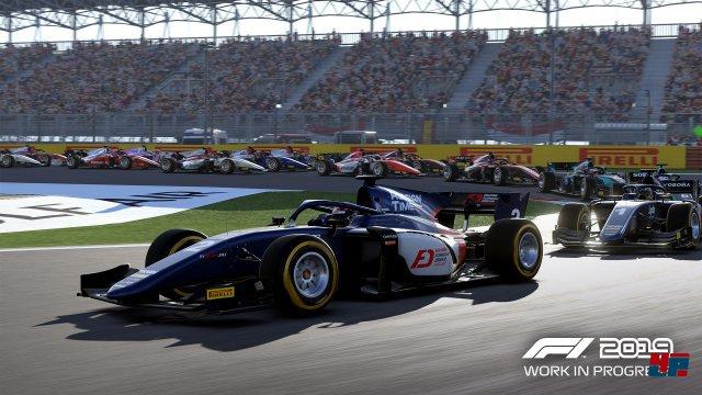 In der Karriere startet man zunächst in der etwas langsameren Nachwuchsserie Formel 2 und arbeitet sich nach oben.