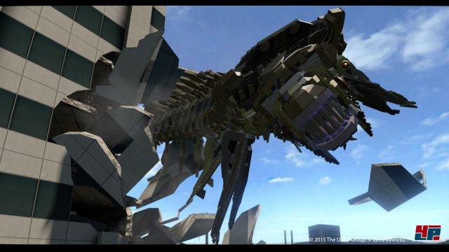 Teilweise werden Filmszenen 1:1 mit Lego-Figuren nachgestellt.
