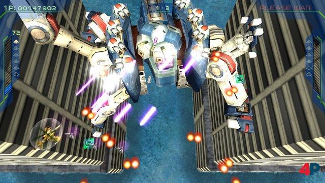 In Zero Gunner 2 hat man es mit Mechs und einer ungewöhnlichen Steuerung zu tun.