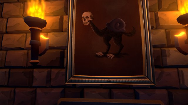 Abseits von ein paar ansprechend-schaurigen Gemälden gibt es wenig optische Reize im Spiel.