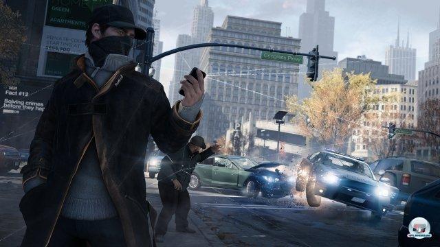 Chicago ist als Schauplatz stimmungsvoll, hat aber auf Konsolen Schwierigkeiten, sich vom letztjährigen Grand Theft Auto 5 abzusetzen.