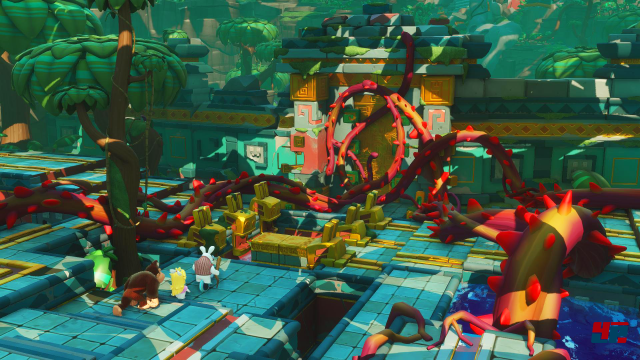 Screenshot - Mario   Rabbids Kingdom Battle - Donkey Kong Adventure (Switch) 92569350