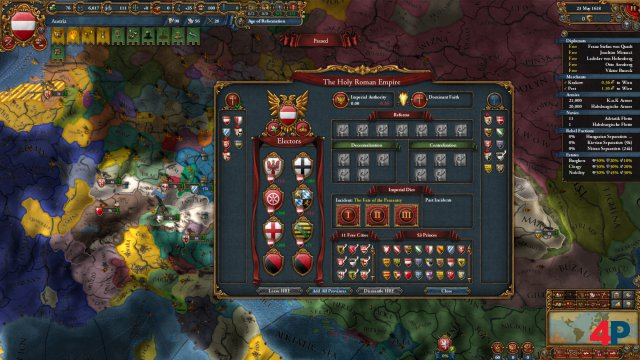 Screenshot - Europa Universalis 4: Emperor (PC)