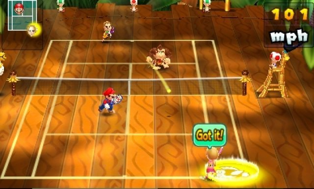 Screenshot - Mario Tennis Open (3DS)