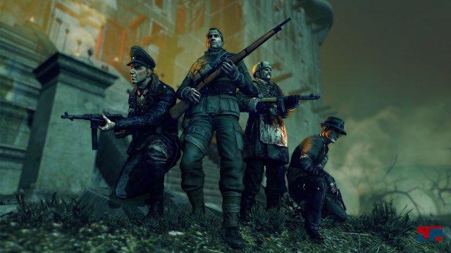 Erst mit einem vollen Vier-Mann-Team stellt sich der ganze Spaß des Überlebenskampfes ein.