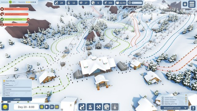 Screenshot - Snowtopia: Ski Resort Tycoon (PC)