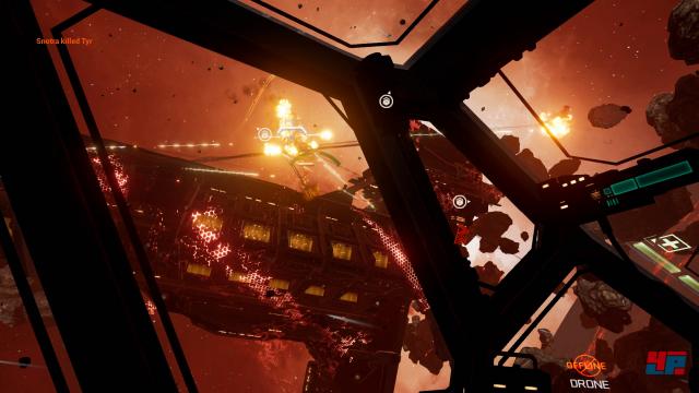 In VR nach wie vor klasse: Die Online-Gefechte sind ebenso rasant wie fesselnd.