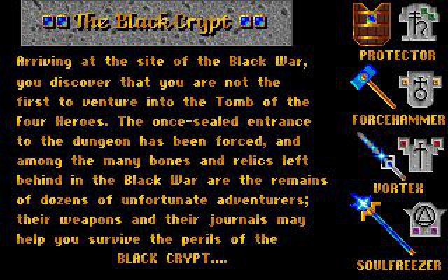 Screenshot - Black Crypt (PC)