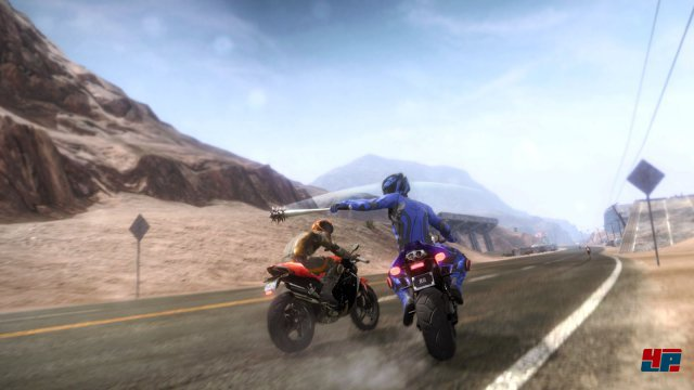 Screenshot - Road Redemption (Linux)