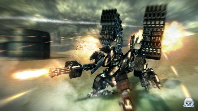 Screenshot - Armored Core V (PlayStation3)
