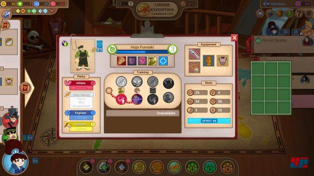 Screenshot - Renowned Explorers: The Emperor's Challenge (PC)