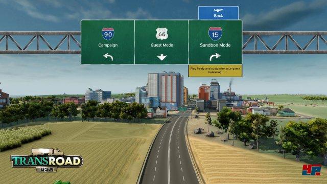 Screenshot - TransRoad: USA (Mac) 92554005