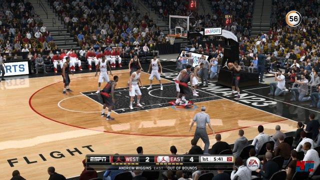 Screenshot - NBA Live 15 (PlayStation4) 92493560