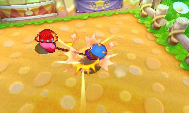 Screenshot - Kirby Battle Royale (3DS) 92555537