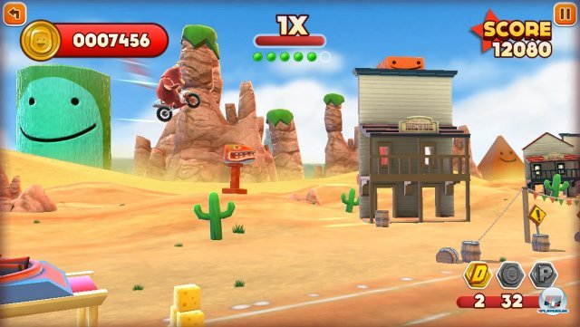 Screenshot - Joe Danger Touch (iPhone) 92439357